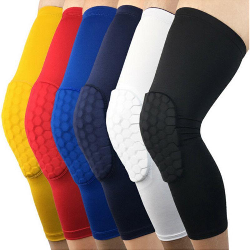 honeycomb knee crashproof antislip basketball leg long