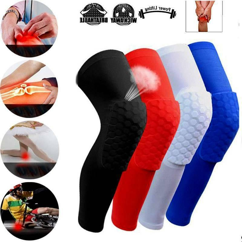 hot basketball knee pads honeycomb leg knee