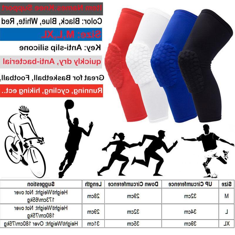Men Youth Leg Sleeve Braces Sports