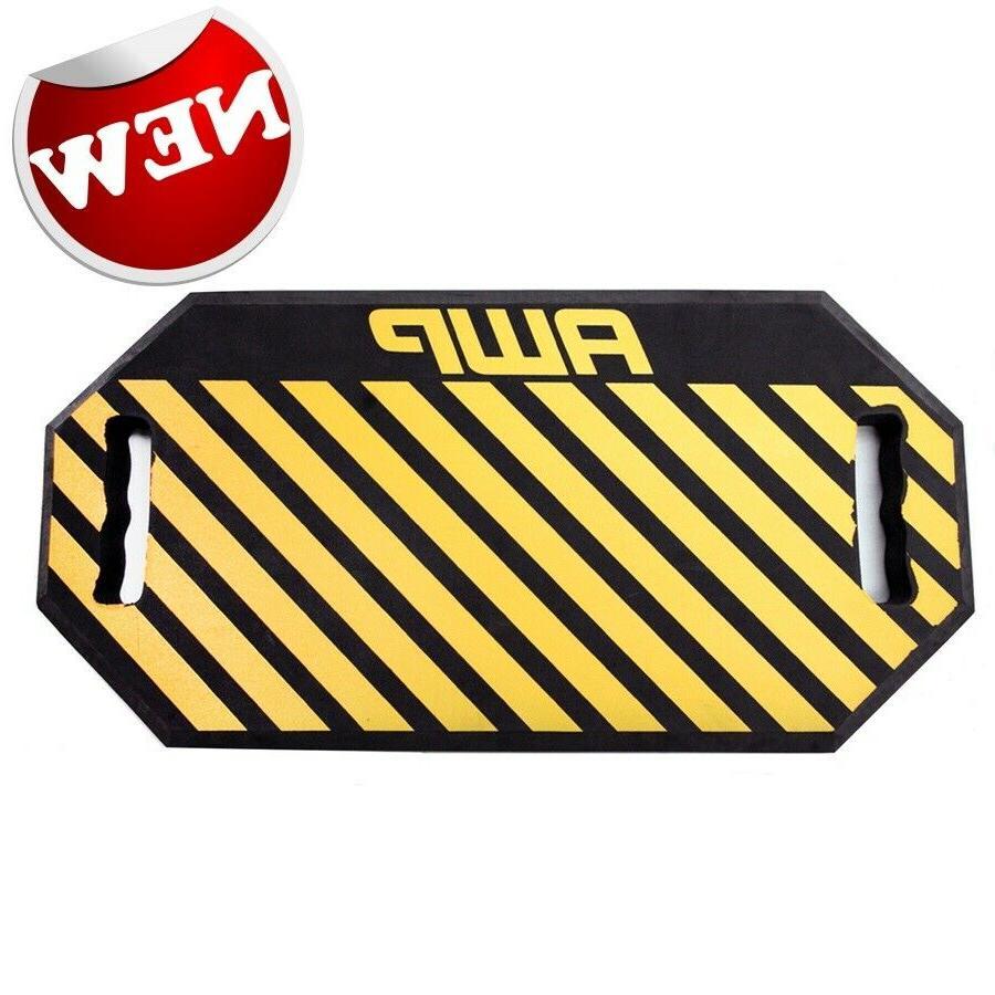 AWP HP Yellow Foam Kneeling Pad Garden Kneeler Seat Cushion
