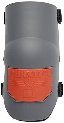 KP Industries Knee Pro Ultra Flex III Knee Pads - Gray and O
