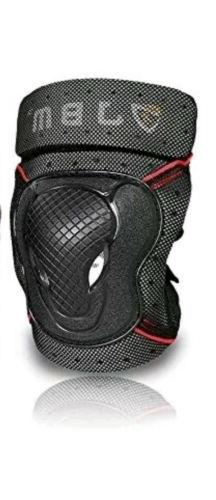 JBM BMX Bike Knee Pads and Elbow Pads Protective Gear Set
