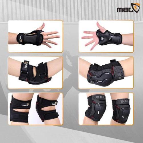 JBM Pads with Wrist Set