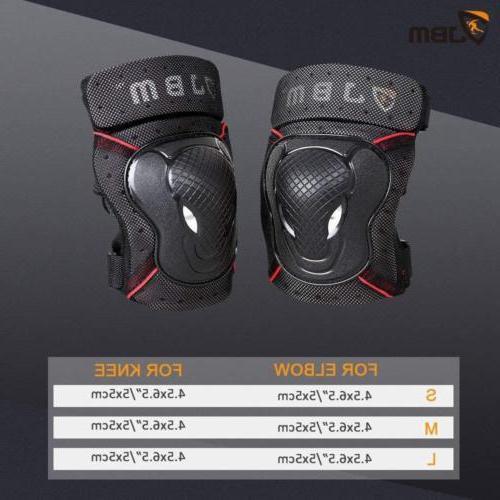 JBM BMX Pads Wrist Set for...