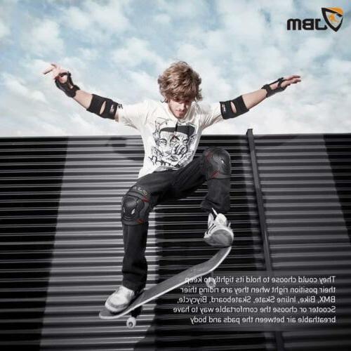 JBM Pads Elbow Wrist Protective Set