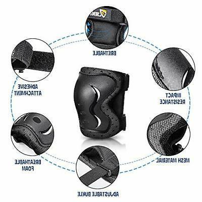 JBM Kids & Adults Full Protective Gear Set, Multi-Sport Helm