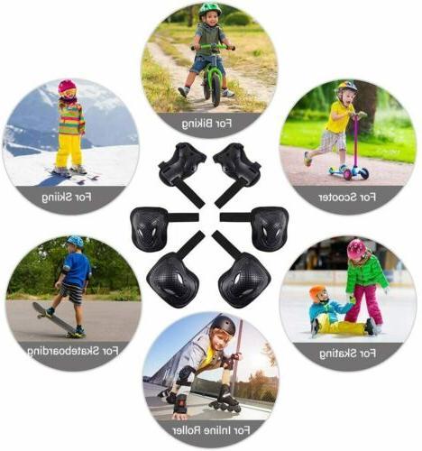 6Pcs Wrist Pads For Skate Gear Set