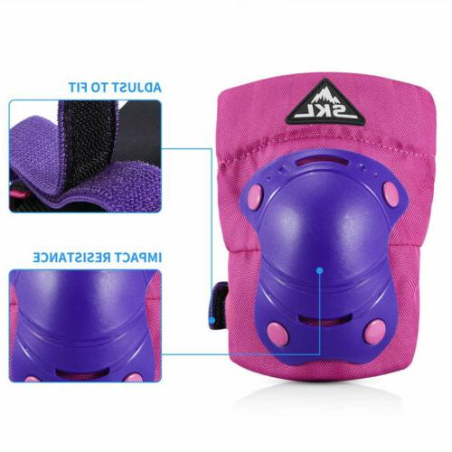 Kids Knee Guards Protective Gear Set Cycle
