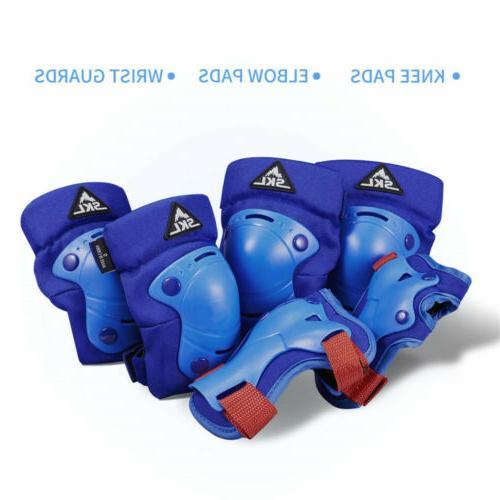 kids protective gear knee pads elbow wrist