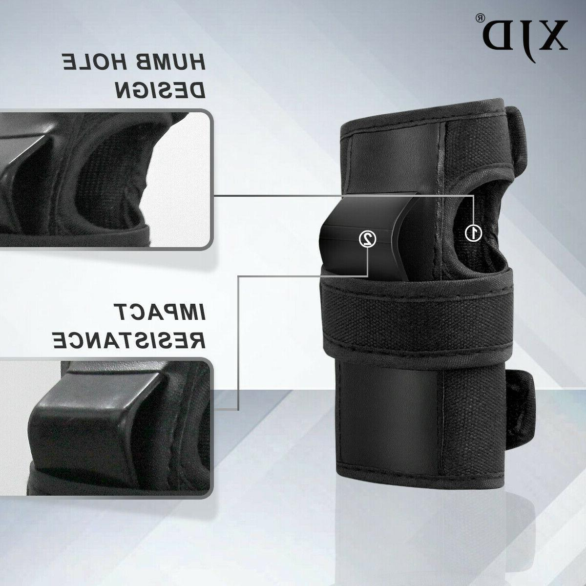 XJD Kids Protective Set in Knee Pads Wrist Guard