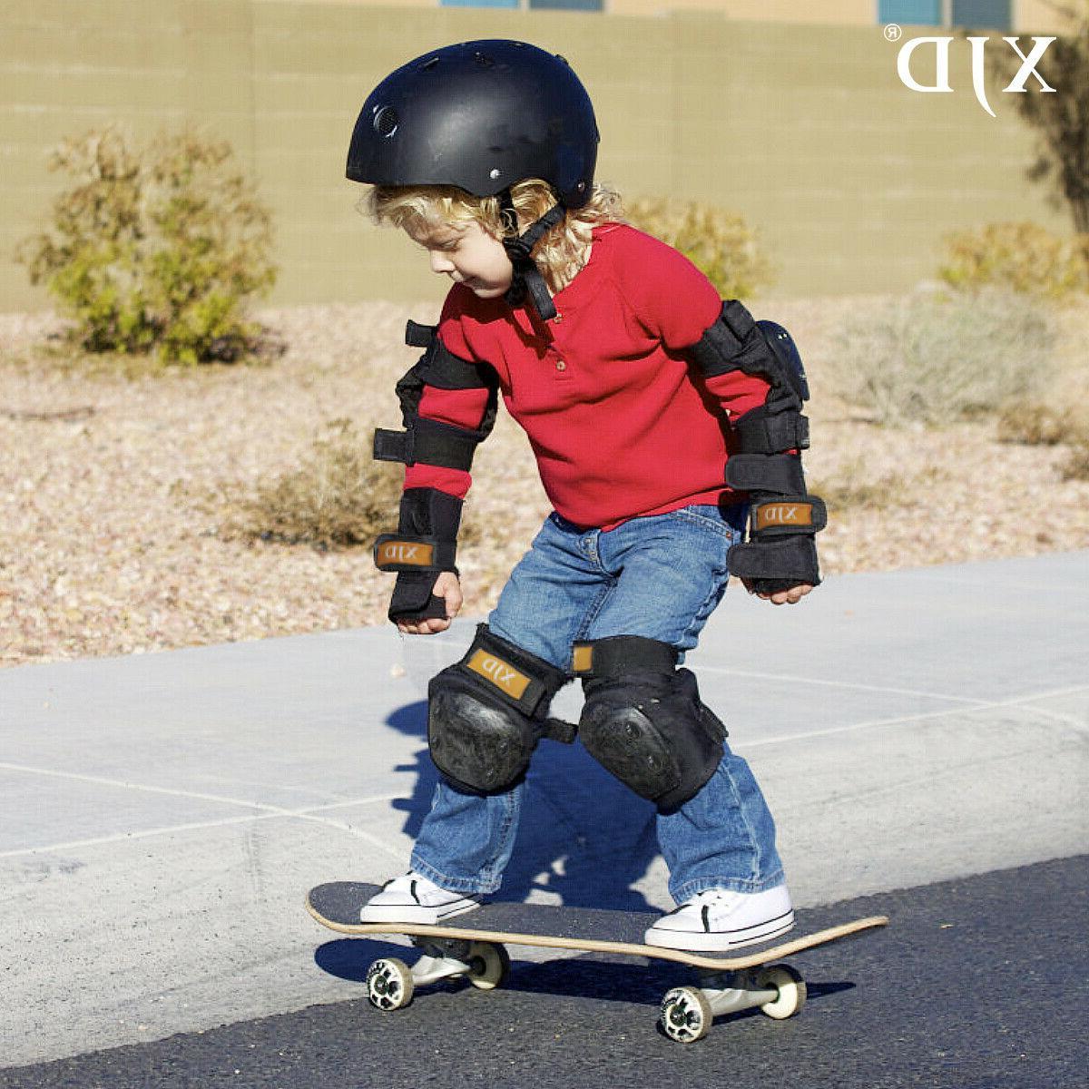 Set 3 Knee Elbow Wrist Skateboard