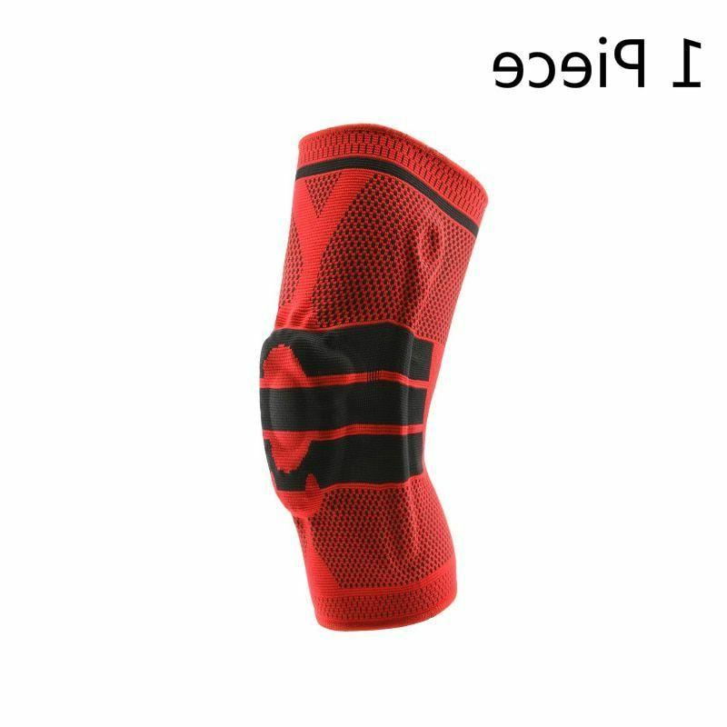 Knee Elastic Silicon Padded Volleyball Safety