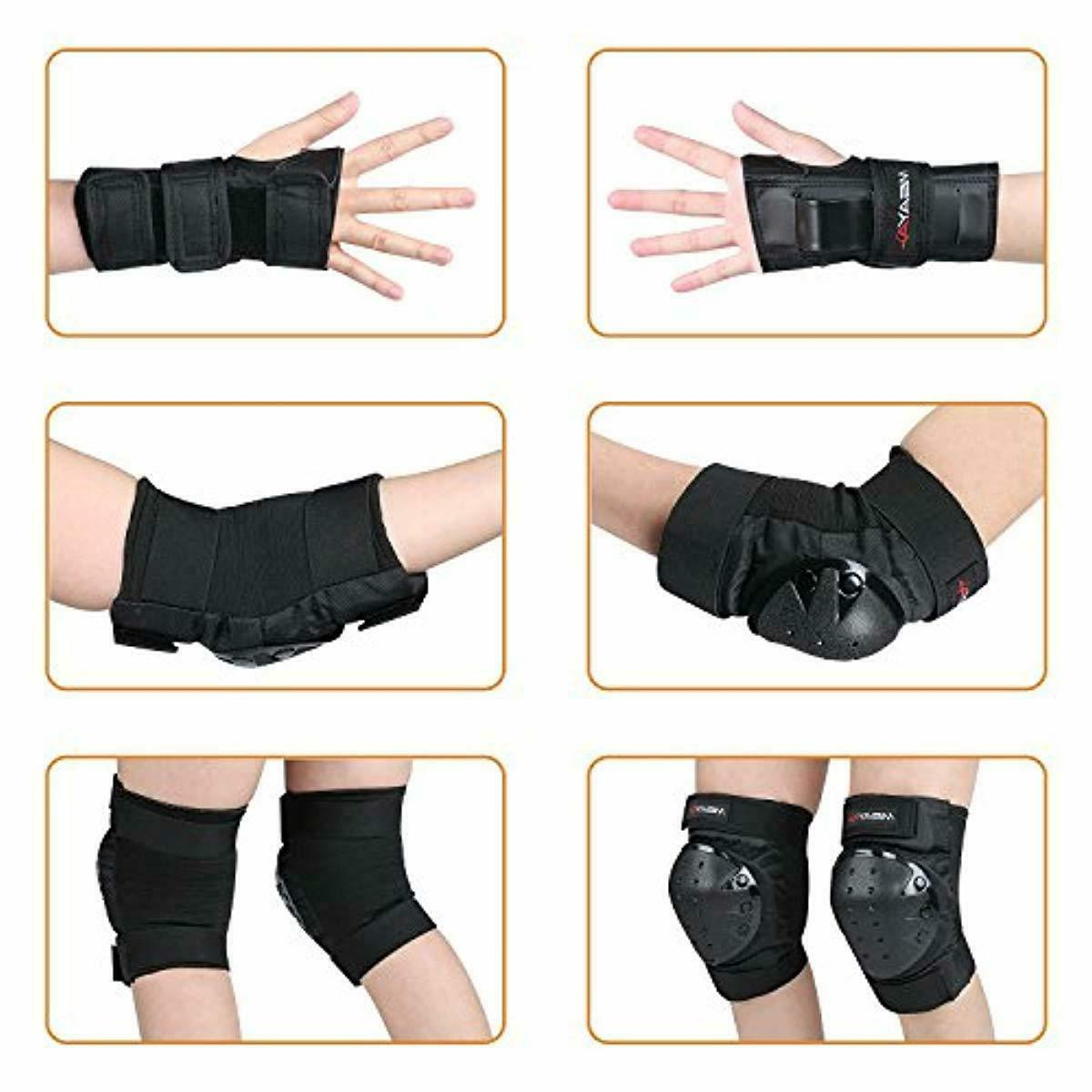 Knee Pads Elbow Wrist Guards 3 1 Protective for
