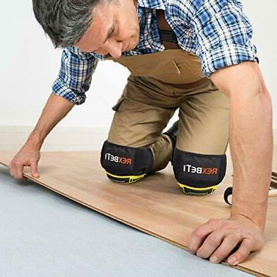 Knee Construction Gel Pads Tools REXBETI, Heavy Duty Comf