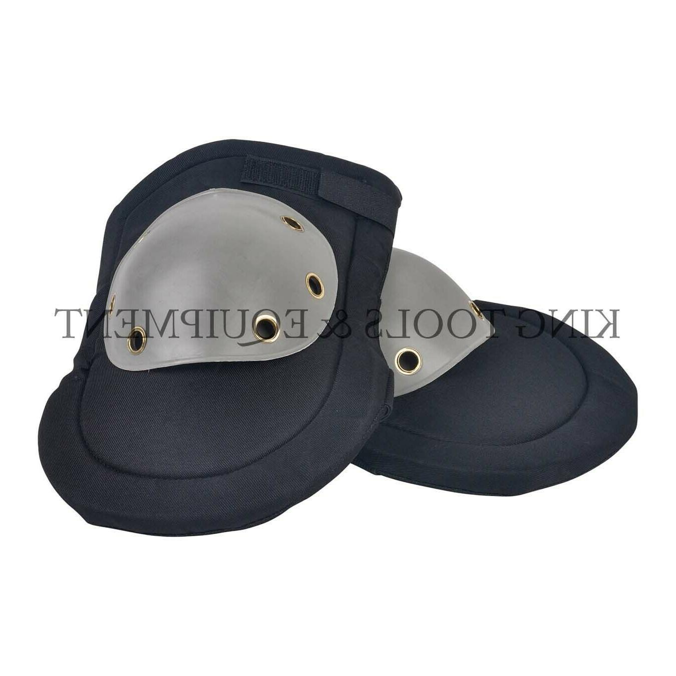 knee pads with hard plastic cap a