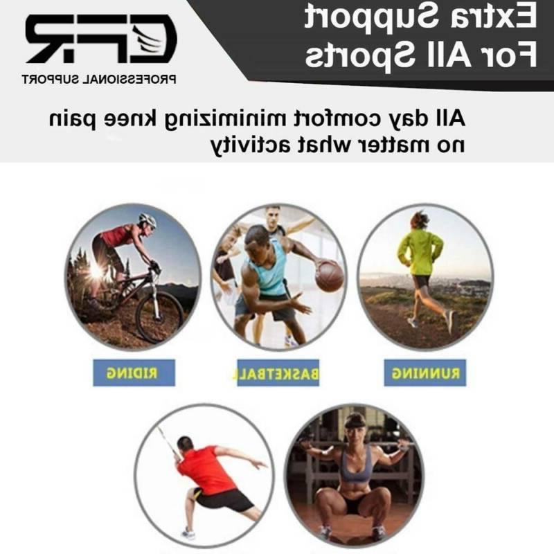 Knee Compression Sleeve Arthritis Gym Sports Pad