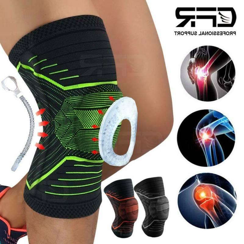 knee springs support brace compression sleeve arthritis