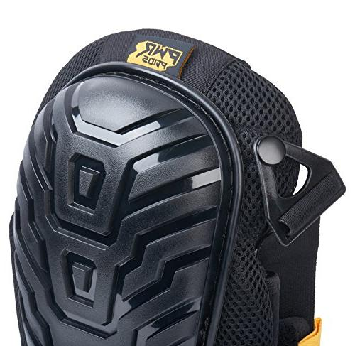 PWR PADS Professional Knee Pads with and Enhanced Support for Gardening, Premium Heavy Duty for Upgraded Longevity Comfort