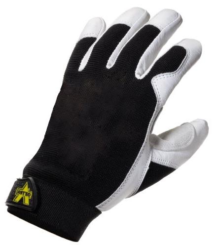 leather washable utility gloves