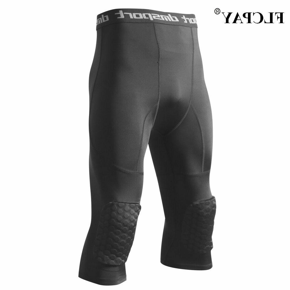 Men's Tights Three-Quarter Pants with Knee