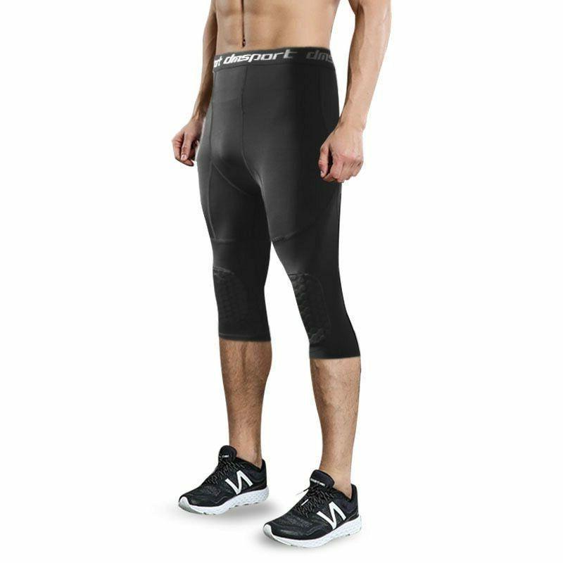 Men's Tights Pants Knee