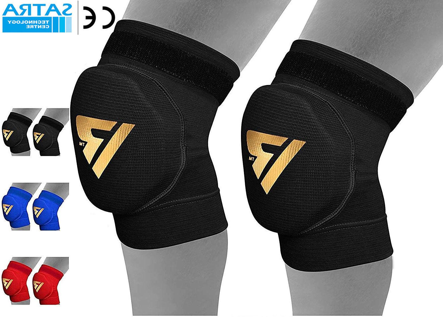 mma knee pads caps protector brace support