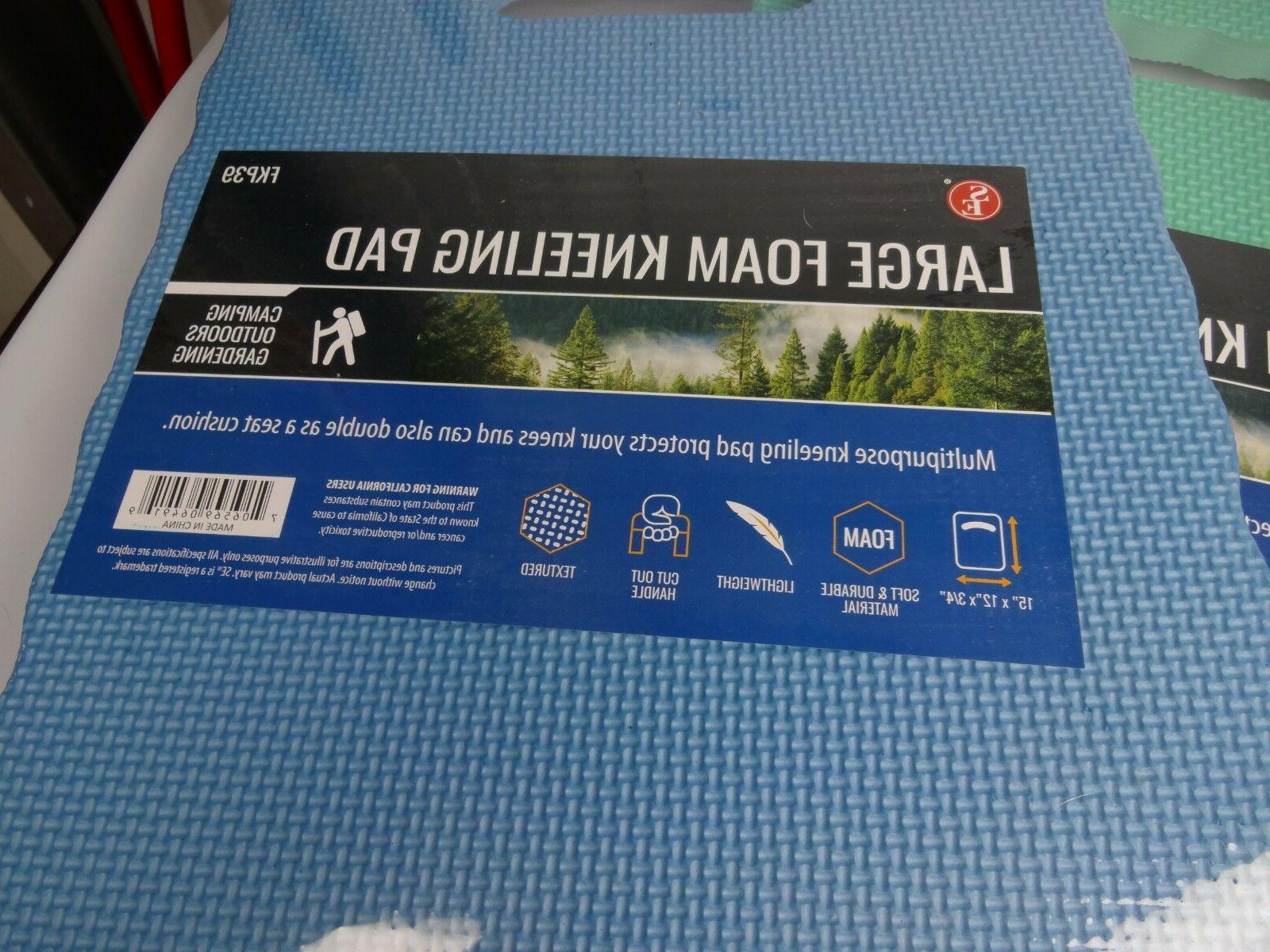 "New Large Foam Kneeling Pd 14-1/2""x12""x5/8"" Seat Cushion Gardening"