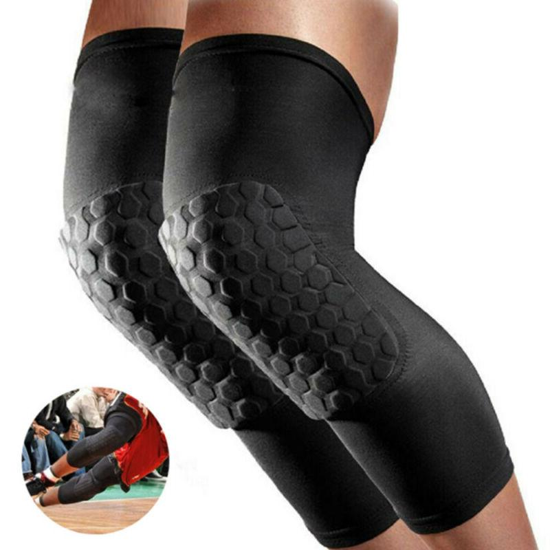 NEW Sleeve Support Brace Knee Pads Basketball Elastic Compression US