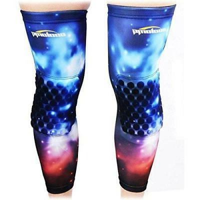 COOLOMG Pair Basketball Knee Pads For Kids Youth Adult Nebul