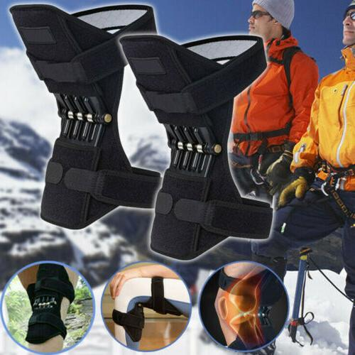 1Pair Power Knee Stabilizer Pad Lift Joint Support Powerful