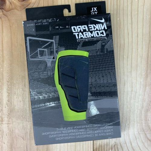 Nike Pro Combat Hyperstrong Padded Basketball Knee Sleeve Bl