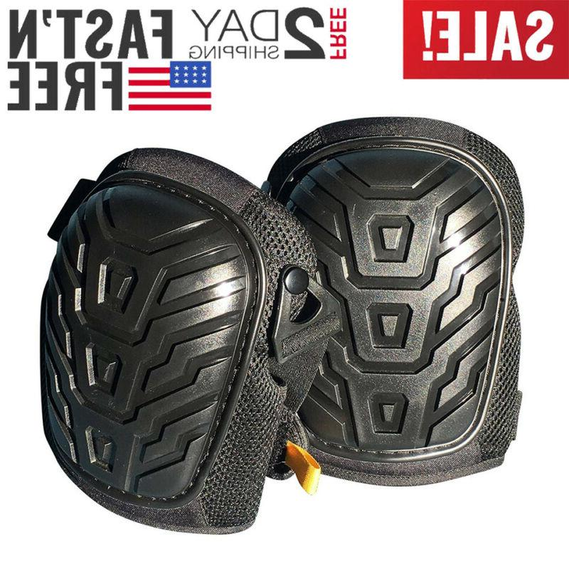 professional black gel knee pads comfortable strong