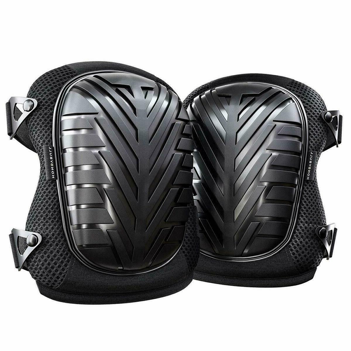 professional knee pads with heavy duty foam