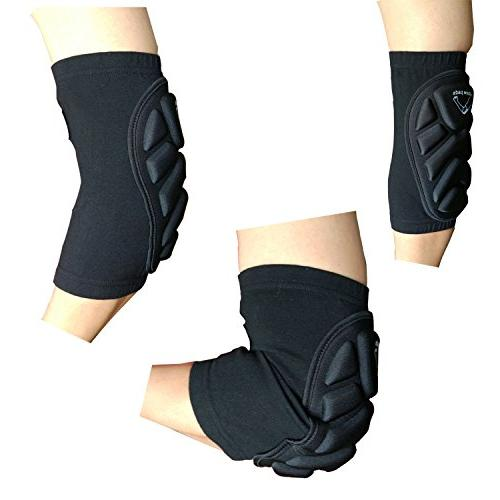 Guide Protective Elbow Pads Support Sleeve Gear Basketball Skateboard Cycling