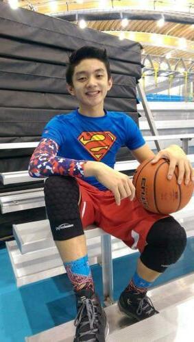 COOLOMG Knee Basketball Volleyball Football Large, Black