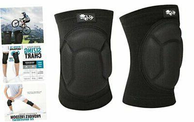 protective knee pads thick sponge anti slip