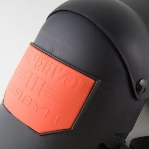 Sellstrom Hybrid Ultra Flex III Pad Gel Universal, /Orange