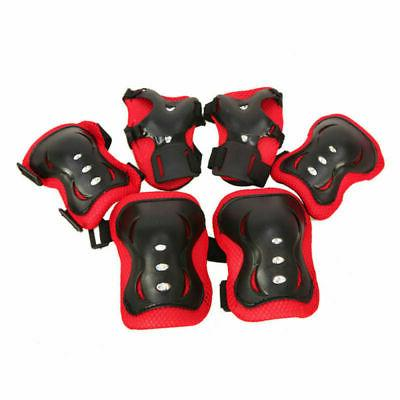 Set of 6 Elbow Knee Sport Protective Guard Kids