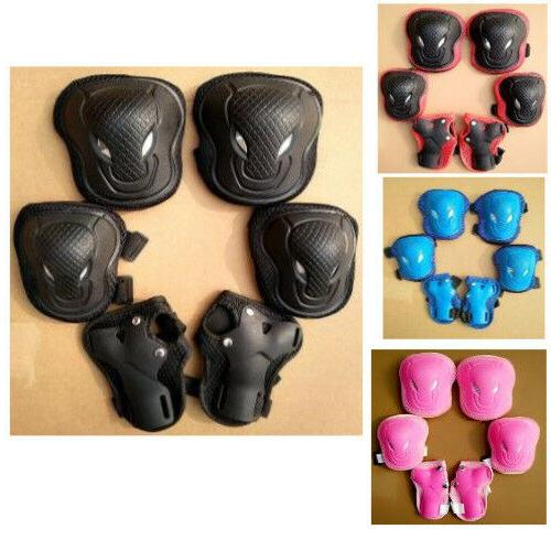 skateboard bike knee pads and elbow pads