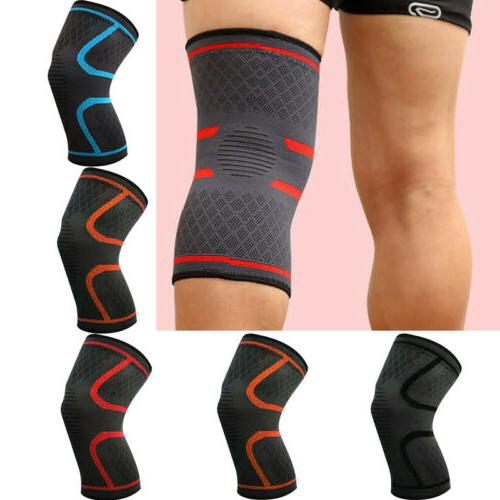 Sports Knee Pad High Compression Silicone Padded Knee Sleeve