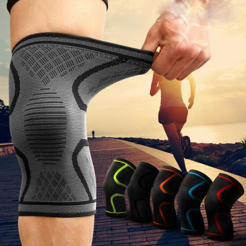 Sports Pad High Compression Knee Sleeve Pads
