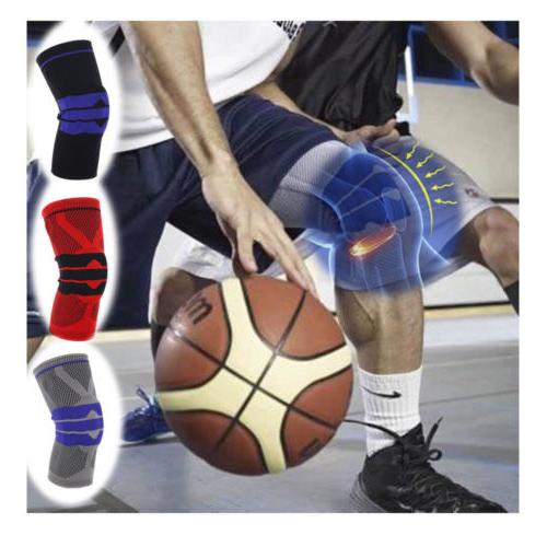Breathable Sports Support High Compression Silicone Knee