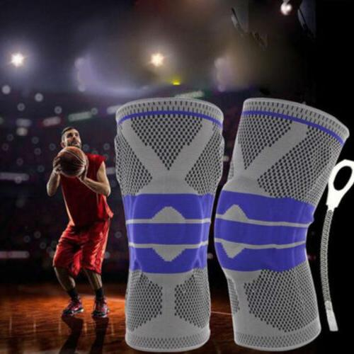 Breathable Brace High Silicone Knee