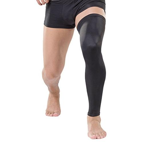 stretchy long knee sleeve protector