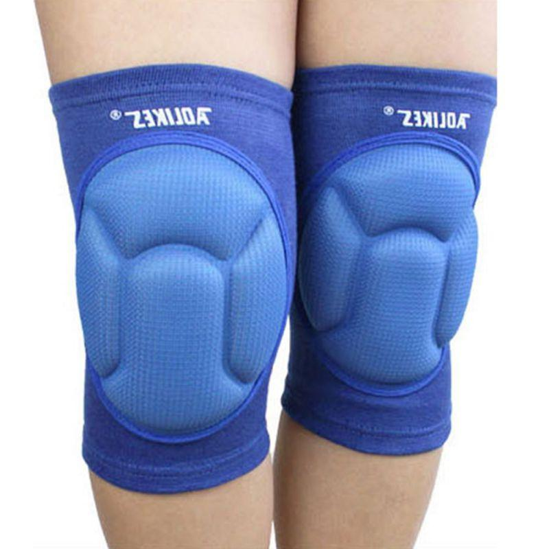 Thicken <font><b>pads</b></font> <font><b>gear</b></font> <font><b>volleyball</b></font> outdoor <font><b>knee</b></font> elbow support bicycle protector