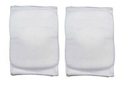 volleyball basketball knee pads white