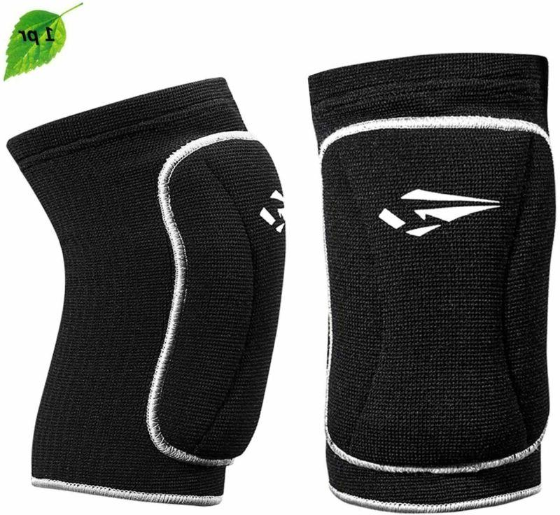 Volleyball Knee Pads With High Protective Low-Profile Soft P