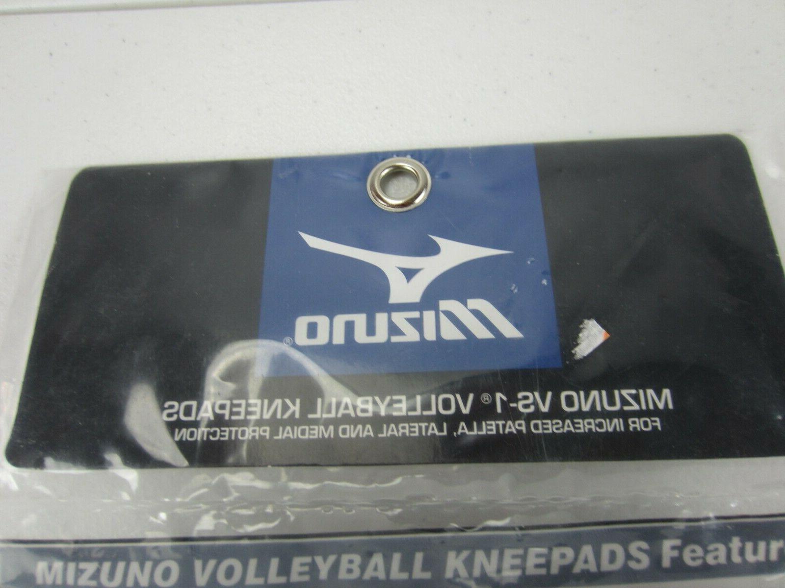 Mizuno Volleyball Kneepads Knee Black New