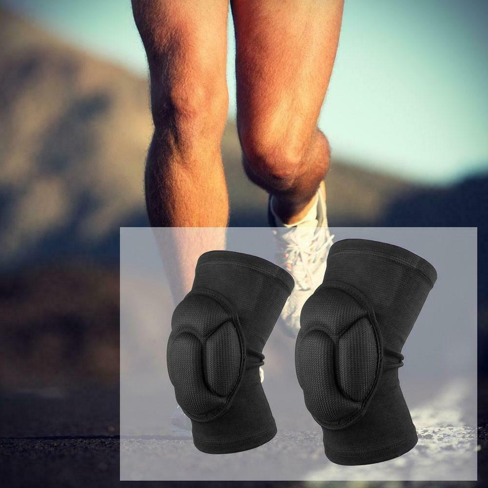 VS2# 2x Extreme Sports Knee Pad Brace Thickened