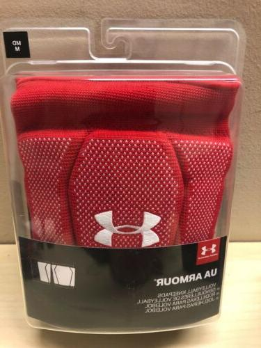 womens 2 0 volleyball knee pads red